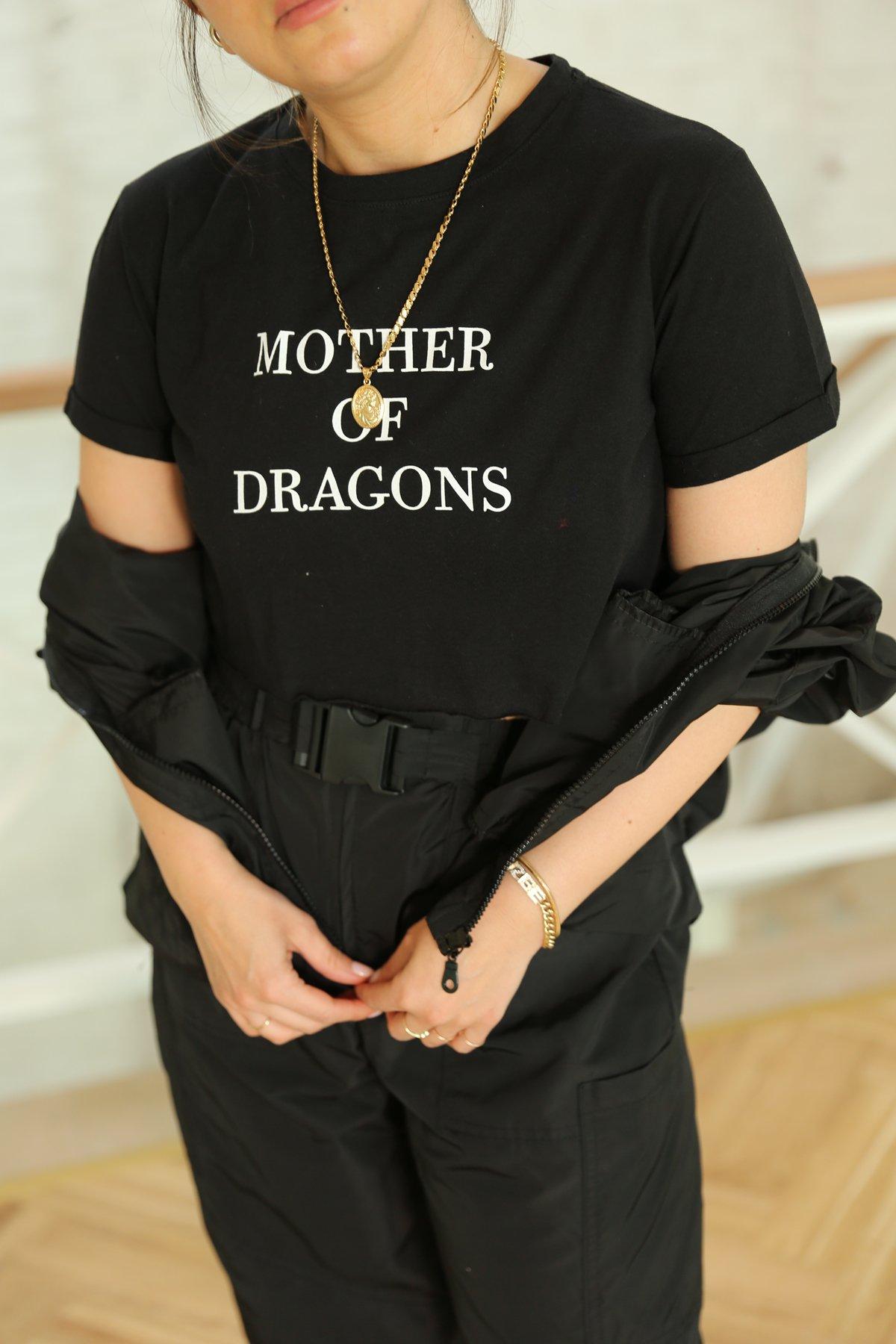 Dragon Yazılı Tshirt
