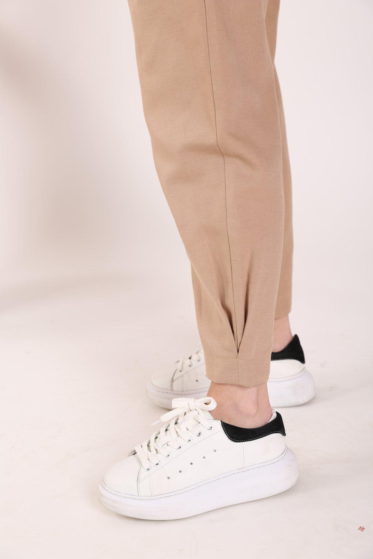 Paçası Pilikaşeli Pantolon