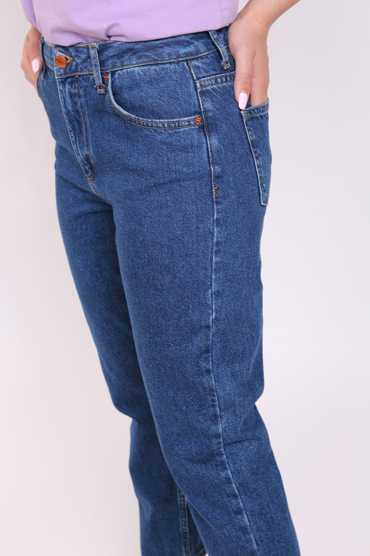 Yüksek Bel Klasik Jean