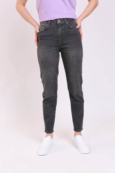 Antrasit Yıkamalı Klasik Jean