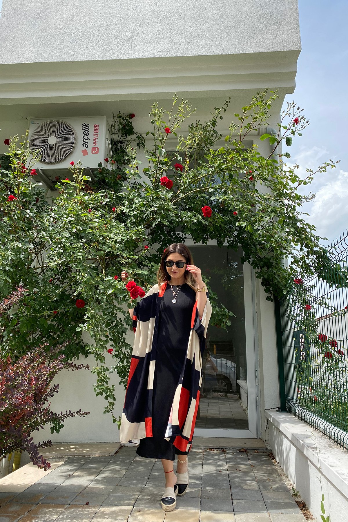 Blok Renk Kimono