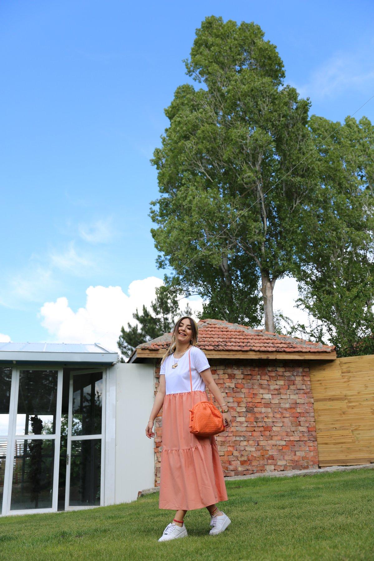 Renk Geçişli Elbise