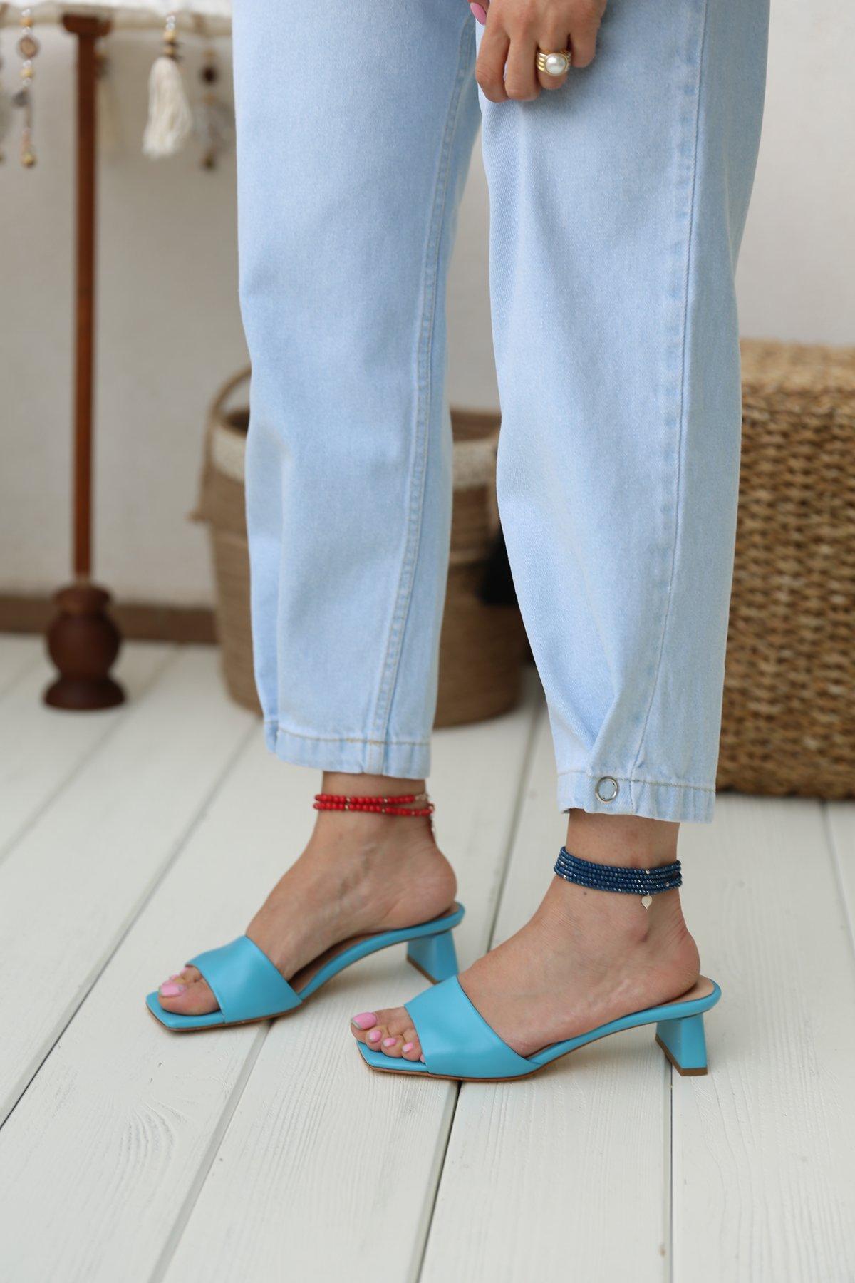 Paçası Çıtçıtlı Bol Jean