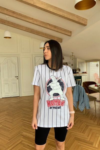 Hommer Baskılı Tshirt