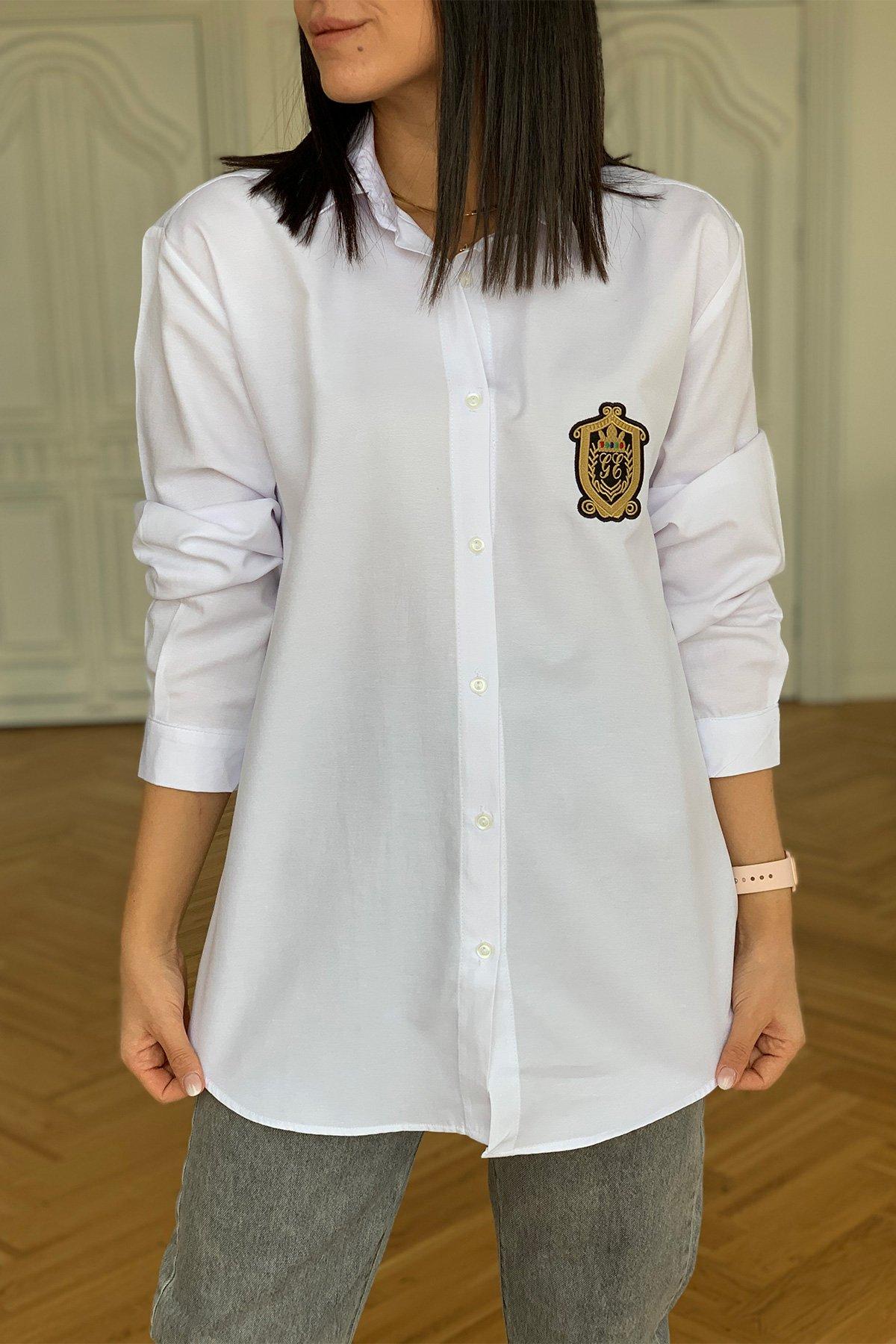 Arma Detay Gömlek