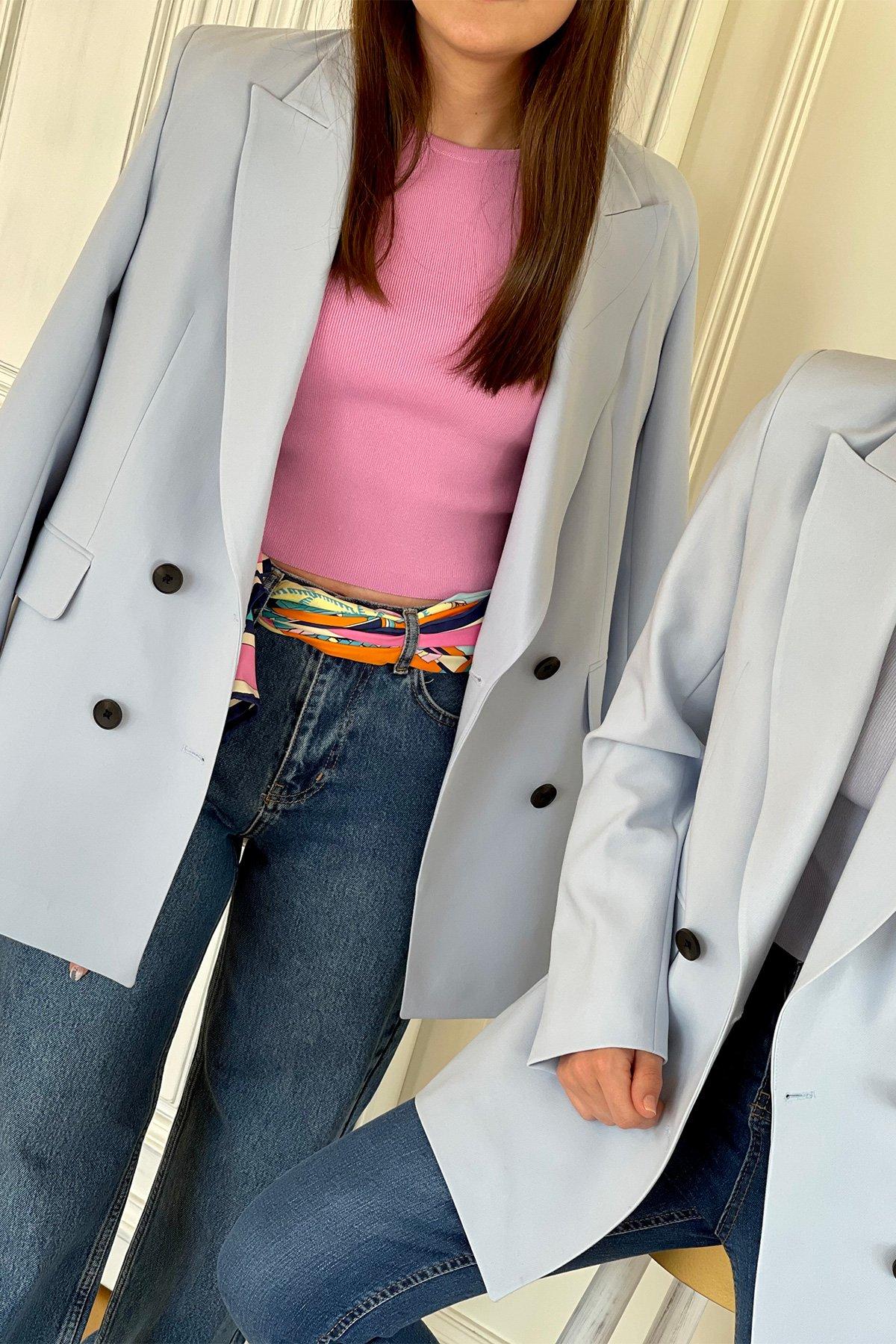 Kruvaze Blazer Ceket