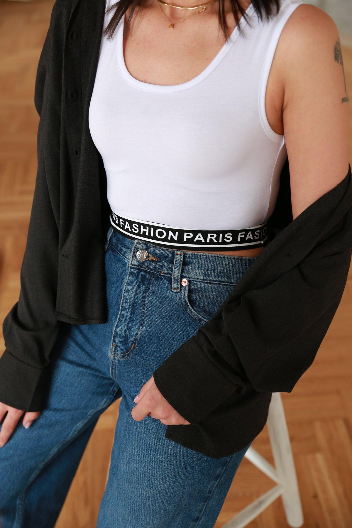Fashion Paris Baskılı Büstiyer