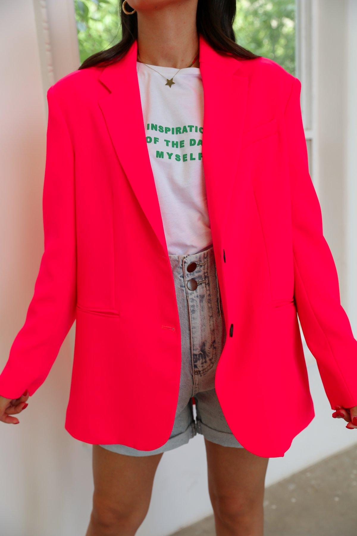 İki Düğmeli Blazer Ceket