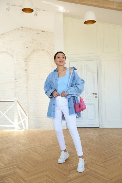 Yüksek Bel Skinny Jean