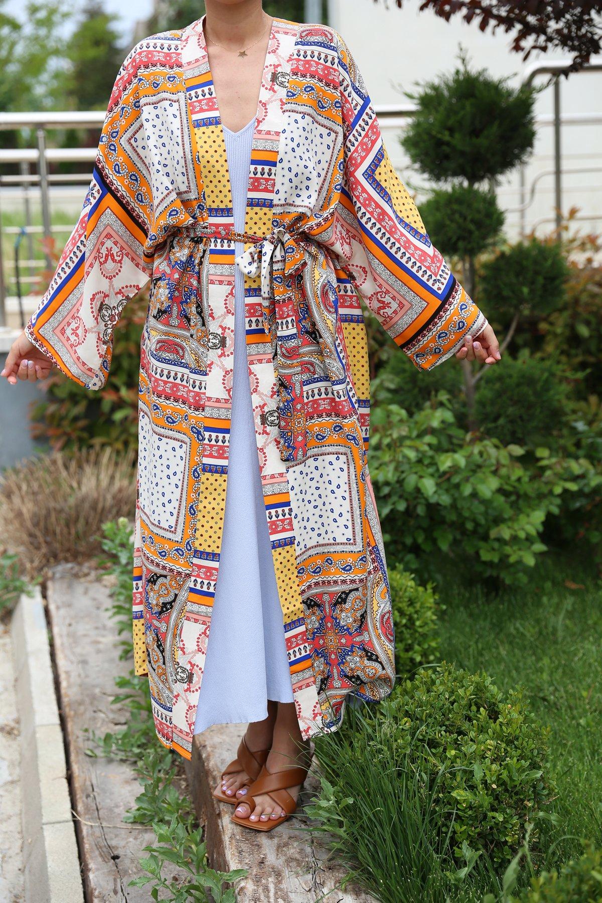 Etnik Desen Kimono