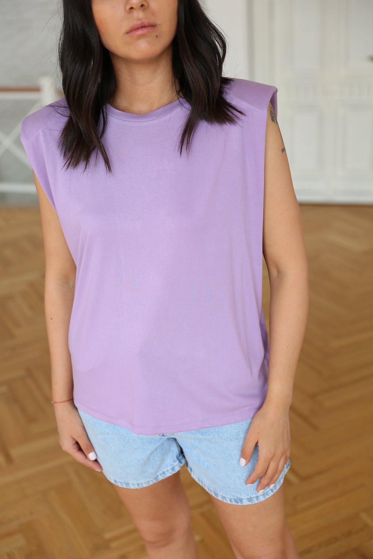 Vatkalı Basic Tshirt