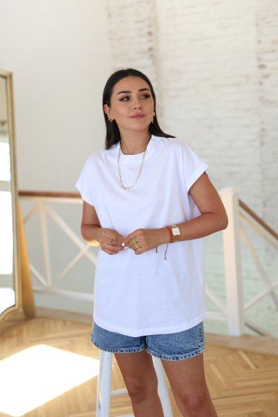 Yakası Dikişli T Kol Tshirt