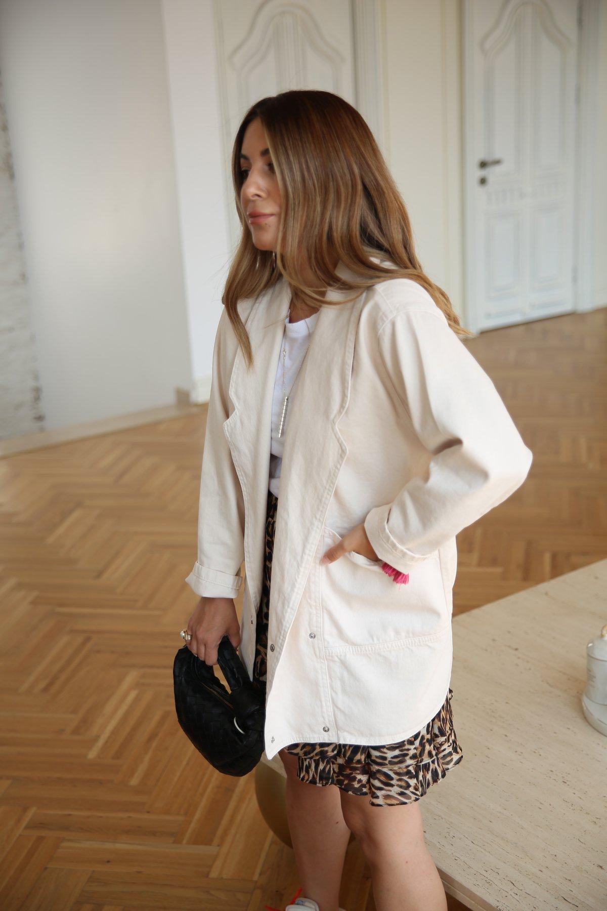 Kruvaze Vintage Kot Ceket