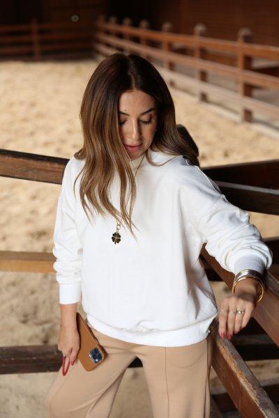 Sırt Detay Sweatshirt