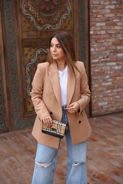 4 Düğmeli Blazer Ceket